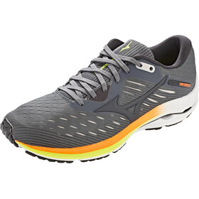 Mizuno Wave Rider 24 Zapatillas Hombre, crock/phanton/safety orange